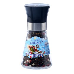 Greek Pepper Mix Glass Grinder Blend 42g