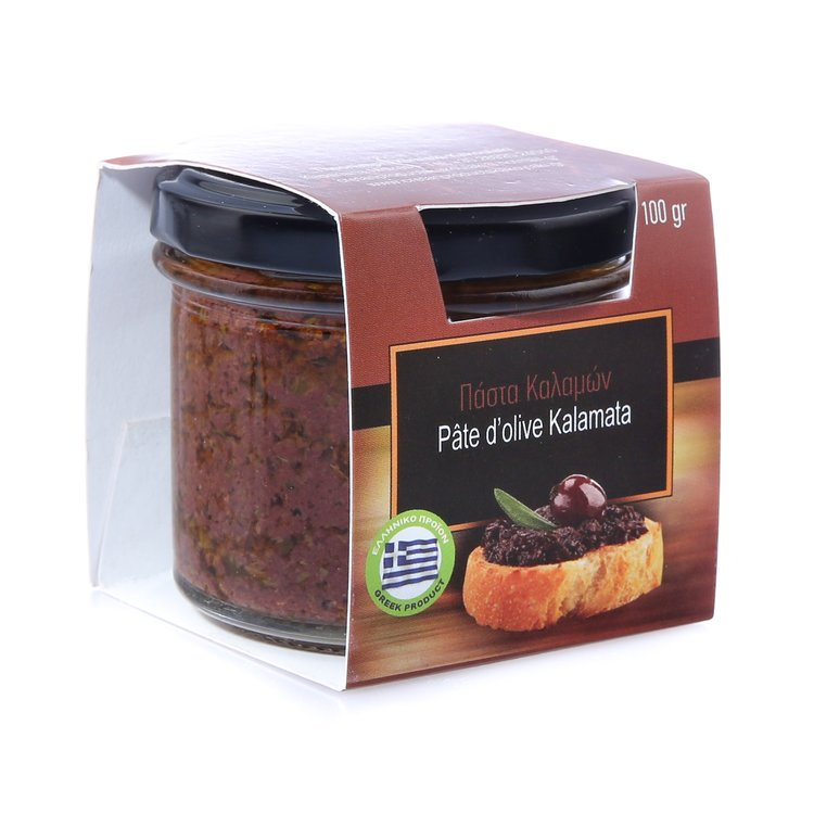 Greek Kalamata Olive Paste 100g