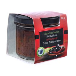 Hot Olive Paste with Chilli 100g