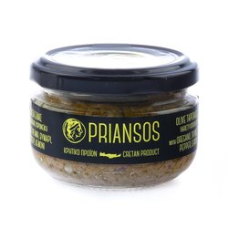 Cretan Olive Tapenade with Oregano, Thyme, Pepper & Lemon 100gr