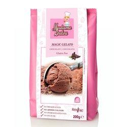 Chocolate Italian Ice Cream Gelato Mix - Make At Home Pack 200g (Gluten Free)