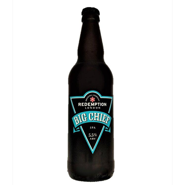 12 x Big Chief IPA Craft Beer 5.5% ABV (12 x 500ml)