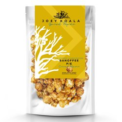 Air-Popped Banoffee Pie Caramel Gourmet Popcorn 80g