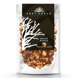 Air-Popped 'House Mokha' Caramel Gourmet Popcorn with Cocoa & Coffee 80g