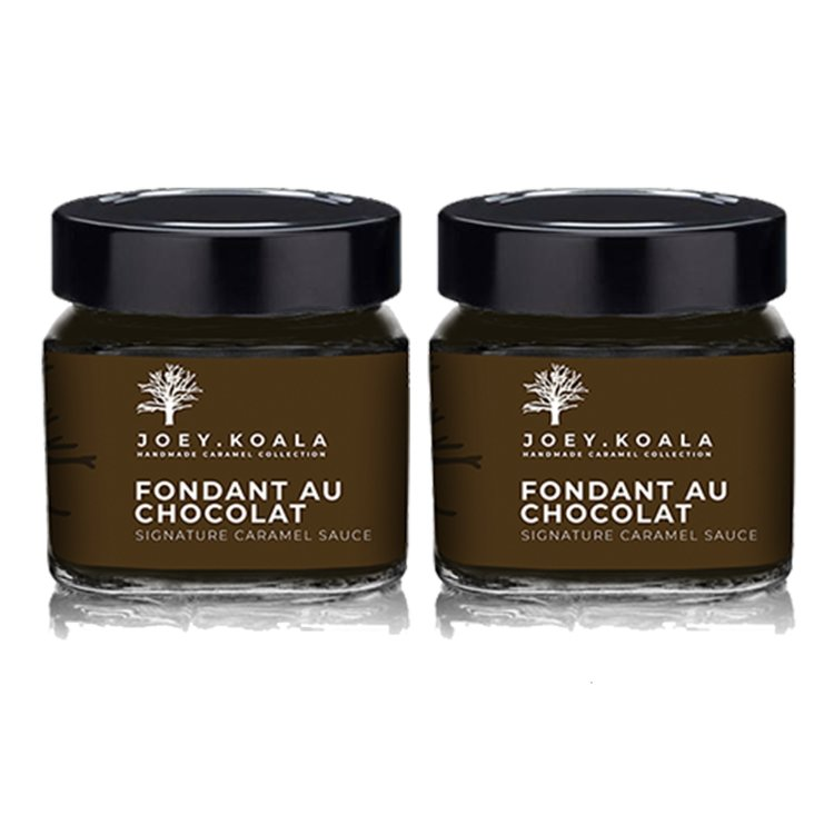 'Fondant Au Chocolat' Chocolate Caramel Sauce (Handmade) 230g