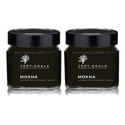 Mokha Caramel Sauce with Coffee & Cocoa (Handmade) 230g
