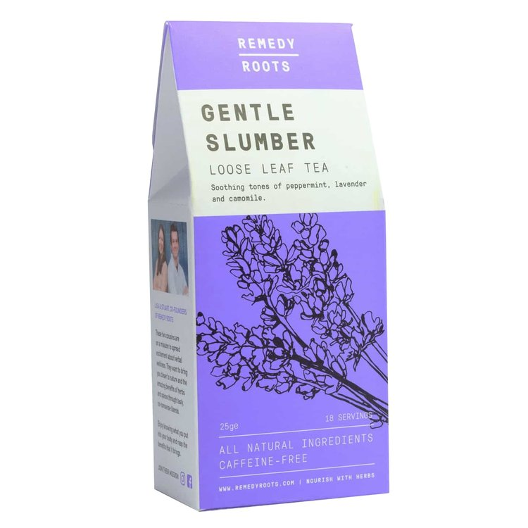 Caffeine-Free 'Gentle Slumber' Loose Leaf Herbal Tea with Chamomile & Lavender 25g