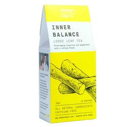 Caffeine-Free 'Inner Balance' Loose Leaf Herbal Tea with Liquorice & Peppermint 30g