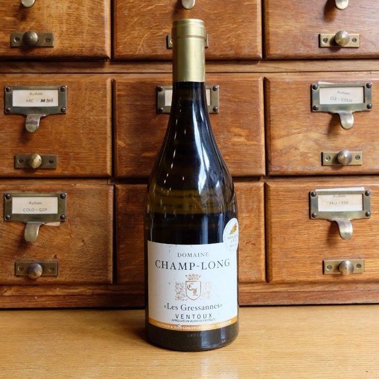 Rousanne & Grenache Blanc Ventoux 'Les Gressannes' French White Wine 75cl