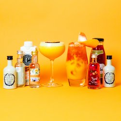 'Pornstar Martini' Cocktail Gift Set Inc. Vodka, Fruit Liqueur & Sugar Syrup