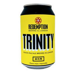 Case of Trinity Pale Ale London Craft Beer Cans 3% ABV (12 x 330ml)