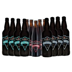 London Craft Beer Case with Ale, Porter & IPA Beers (12 x 500ml)