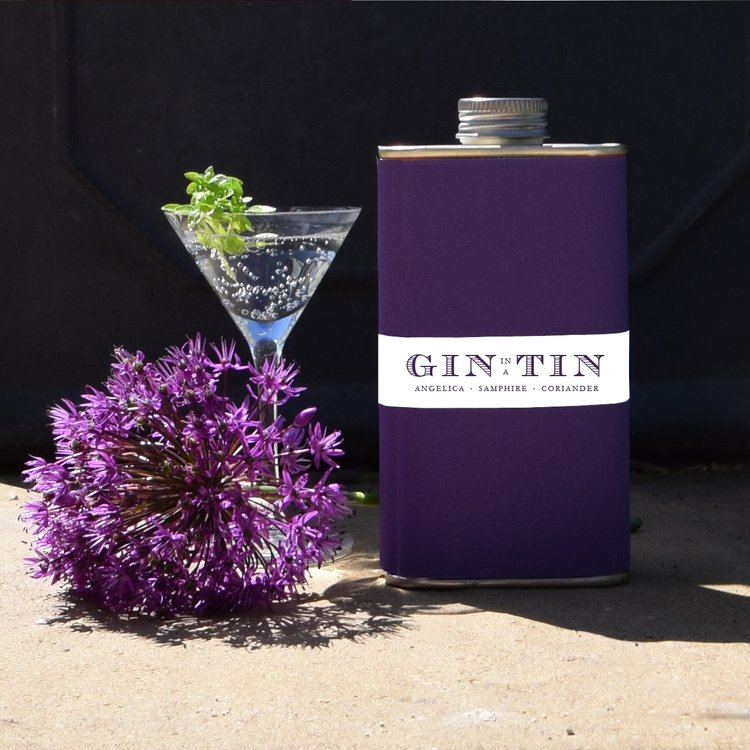 Angelica, Samphire & Coriander 'No. 8' Gin In A Tin 50cl