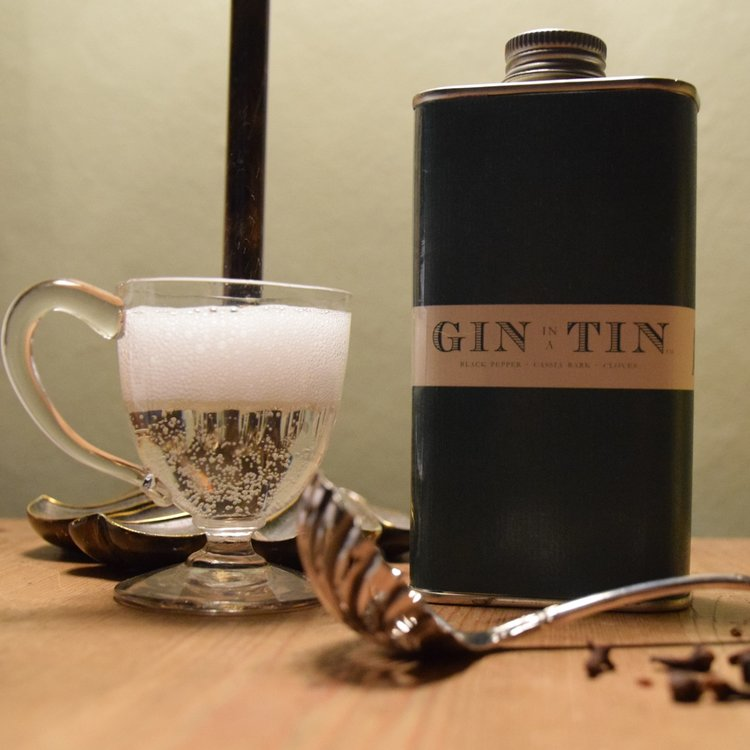 Black Pepper, Cassia Bark & Clove 'No. 3' Gin In A Tin 50cl