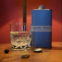Lemon Peel, Liquorice Root & Cardamom 'No. 2' Gin In A Tin 50cl