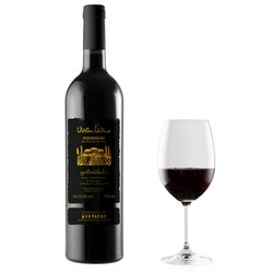 Pirosmani Medium Dry Georgian Red Wine 75cl