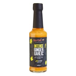 Hot 'Intense' Ginger, Garlic & Chilli Sauce 160g (Vegan)