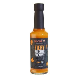 Hot 'Fiery' Pineapple, Balsamic Vinegar & Chilli Sauce 160g (Vegan)