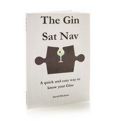 'The Gin Sat Nav' Gin Tasting Book