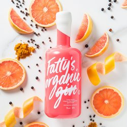 Fatty's Organic Pink Grapefruit Spirit 70cl 20% ABV