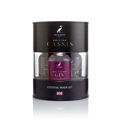 Whittern Gin & British Cassis Blackcurrant Liqueur Cocktail Gift Tin