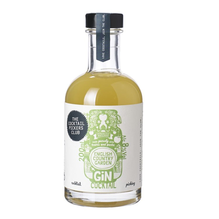 English Country Garden Pre-Mixed Gin Cocktail 70cl 8% ABV