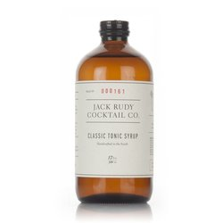 Small Batch Classic Tonic Syrup 50cl (For Cocktails & Gin & Tonic) by Jack Rudy Cocktail Co.