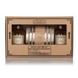 Mature Your Own Cask-Aged Gin Gift Kit Inc. Gin & Oak Barrel