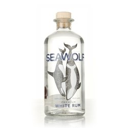 'SeaWolf' Premium Scottish White Rum 50cl 41% ABV