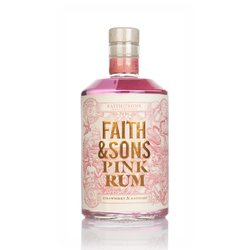 Strawberry & Raspberry Pink Rum 50cl 37.5% ABV by Faith & Sons