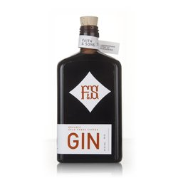 Coffee Gin Liqueur - Organic & Cold-Pressed - 50cl 37.5% ABV by Faith & Sons