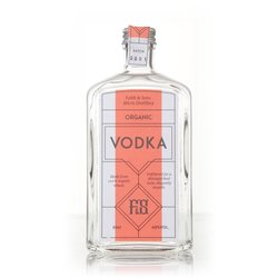 Organic Vodka 50cl 40% ABV