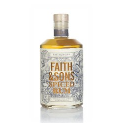 Spiced Manchester Rum 50cl 40% ABV by Faith & Sons