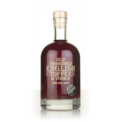 English Vodka Company Old Fashioned English Toffee Vodka Liqueur 50cl 25% ABV
