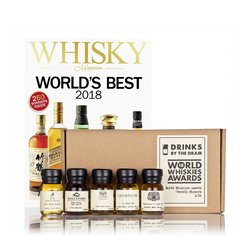 2018 World Award Winning Whisky Miniatures Tasting Gift Inc. Johnnie Walker & Glenkinchie Whiskies