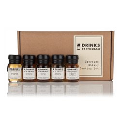 Speyside Scotch Whisky Miniatures Tasting Gift Set Inc. Glenfiddich, Glenfarclas & Tomintoul Whiskies