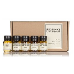 Irish Whiskey Miniatures Tasting Gift Set Inc. Connemara, Bushmills & Teeling Whiskey