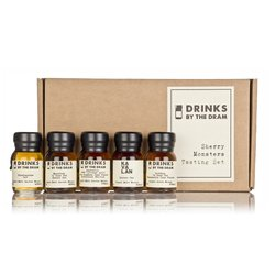 'Sherry Monsters' Sherry Cask Aged Whisky Miniatures Tasting Gift Set Inc. Lagavulin & Glenfarclas