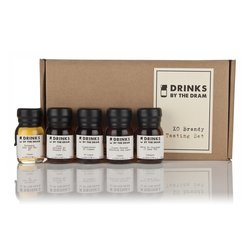Extra Old Brandy Miniatures Tasting Gift Set Inc. Courvoisier & Delamain Brandies