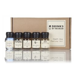 Craft Gin Miniatures Tasting Gift Set Inc. Rose, Smoked & Quinine Gins