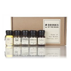 Gins of the World Miniatures Tasting Gift Set Inc. Hernö, Ungava & Audemus Gins