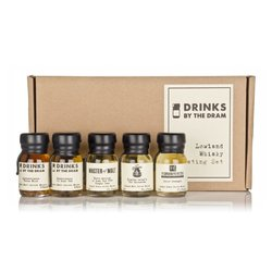 Lowland Scotch Whisky Miniatures Tasting Gift Set Inc. Glenkinchie & Auchentoshan Whiskies