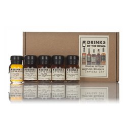 Premium Antique American Whiskey Miniatures Tasting Gift Set Inc. Four Roses & Black Label Whiskey