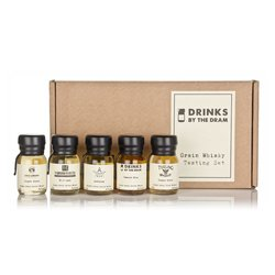 Grain Scotch Whisky Miniatures Tasting Gift Set Inc. Loch Lomond & Compass Box Whiskies