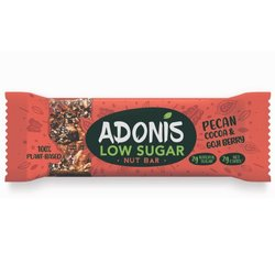 10 x Low Sugar Pecan Nut Vegan Snack Bars with Goji Berry & Cocoa (10 x 50g)