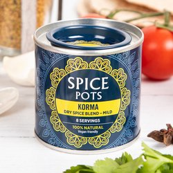 Mild Korma Curry Dry Spice Blend Pot 40g