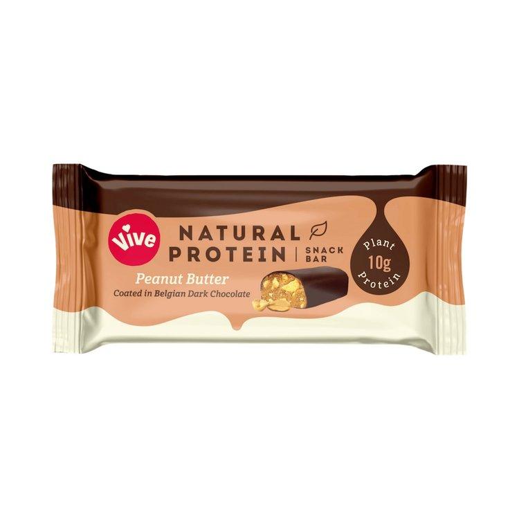 12 x Peanut Butter & Dark Chocolate Coated Vegan Protein Snack Bar (12 x 49g)