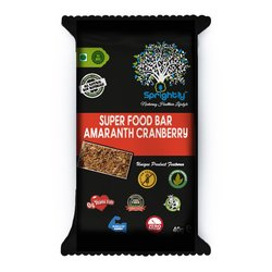 Amaranth Seed & Cranberry Vegan Energy Snack Bar 40g