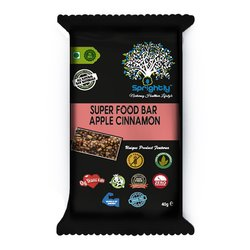 Apple & Cinnamon Vegan Energy Snack Bar 40g