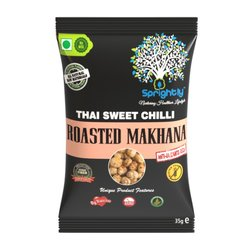 Thai Sweet Chilli Roasted Makhana (Lotus Seed) Snack 35g
